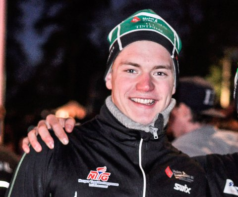 SESONGSTART: Marius Svendsby gikk fredagens 15-kilometer på Beitostølen.
