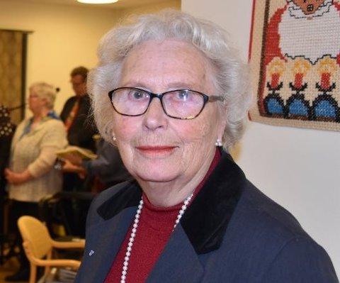COMEBACK: Laila Christoffersen er klar for comeback i kommunestyresalen.