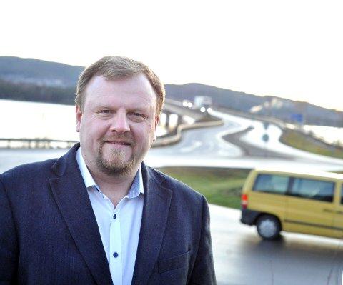 Ny jobb: Øyvind Moshagen har vært svært synlig i arbeidet med ny E6 gjennom Ringsaker de siste årene.