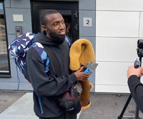 I FRANKRIKE: Luc Abalo sitter «fast» i Frankrike, og får ikke komme til Norge før et eventuelt innreiseunntak blir gjeninnført for idrettsutøvere.