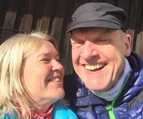 Lars Magnussen har satt pris på støtten fra kjæresten Ann Helen Solheim mens han har vært syk.