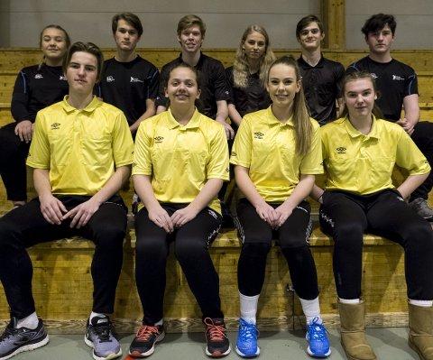 Unge dommere: Mange nye dommere er rekruttert i klubben de siste sesongene.Foto: Vetle Sørøy