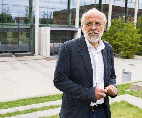 Fusjonsklar: HBV-rektor Petter Aasen.