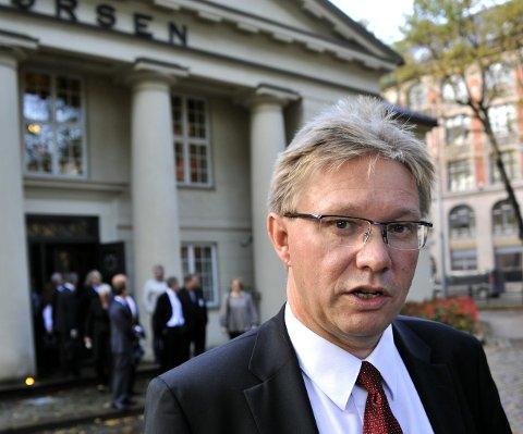 Per A. Sørlie er tilfreds med at Borregaard så langt har kommet seg trygt gjennom koronakrisen.