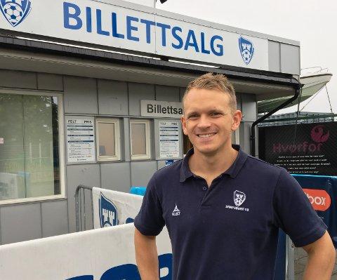 STOR PÅGANG: Alexander Klaussen og Sarpsborg 08 er fornøyde.