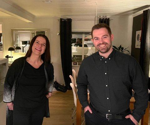 KLAR FOR KAMP: Marie-Helene Hollevik Brandsdal er andrekandidat for  Arbeiderpartiet i Sogn og Fjordane til stortingsvalet i haust. Torbjørn Vereide er på toppen av lista.