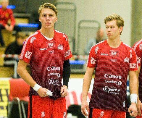 NYTT TAP: Nøtterøy sin tur til Bergen ble noe annet enn det Matias Haug Landsrød (til venstre) og Tollef Lindqvist hadde håpet på.