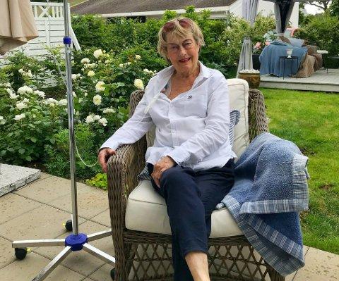 SLAPP SYKEHJEM: Etter 17 døgn på sykehuset fikk Torunn Torleifsdatter Johansen beskjed om at hun måtte videre på sykehjem for å få behandling.