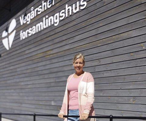 Ny hverdag: Kari Garthus går nå inn i en ny jobb samtidig som hun begynner på skole. FFoto: Privat