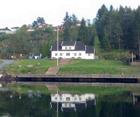 """FMF-huset: """"Padda"""" er klubbhuset til Flosta Motorbåtforening. Nå blir det sommerrestaurant."""