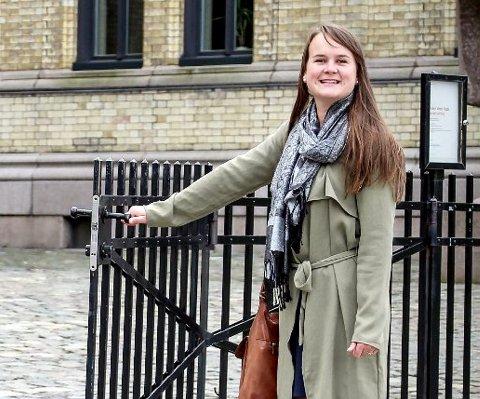 På Stortinget: Marit Knutsdatter Strand fra Øystre Slidre har stilt to spørsmål i Stortinget.