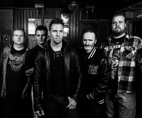 Folkrock: «Byting» er et band fra Bø i Midt-Telemark, og lørdag kommer de til Fagernes.