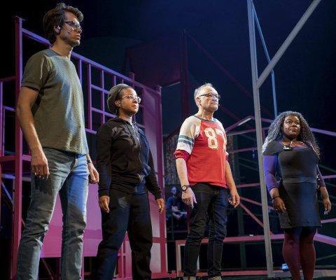 Herman Ljung, Miss Tati, Gerald Pettersen og Kim Fairchild er kun halvannen uke unna premieren på «Å Bergen, Bergen».