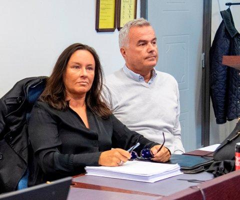 Lise Næss og John Ole Hasund ville anke for å renvaske seg som ryktespredere, men nådde ikke frem. Her fra rettssaken tidligere i høst.