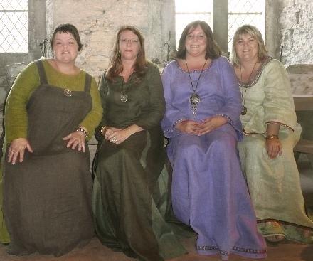 Søndag 26. august kommer kvartetten «Tilia Cordelia» for å synge vakker middelaldersang i klosterkirken på Utstein.