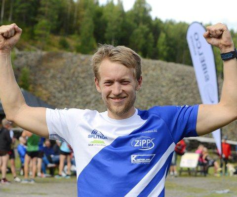 Kongen av Koboltgruvene Opp: Per Kristian Nygård fra Spone har vunnet seks av åtte løp, men lørdag fikk han konkurranse helt til mål.