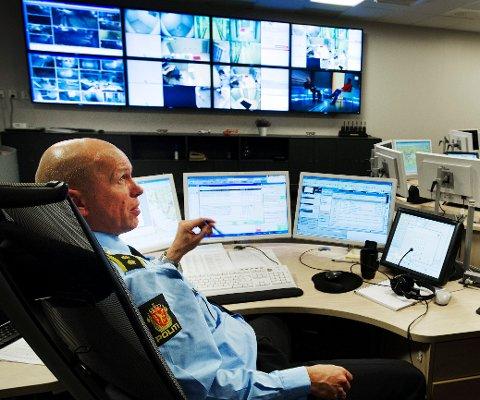 – SIMPELT: Sier operasjonsleder Christian Gulli i politiet.