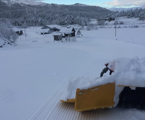 KLARE: Sunnfjord skisenter er klare med preparerte løyper i helga.