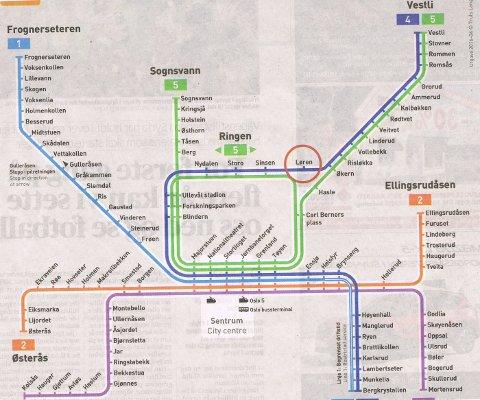 buss kart oslo Fredriksstad Blad   Savner kart som viser hvor bussene går buss kart oslo