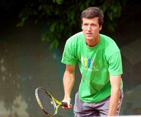 GLEDER SEG: Jonathan Dalnoki gleder seg til å være spillende turneringsleder i Grand Prix til helgen. FOTO: Maria Dahl Skogen (arkiv) Bildetekst