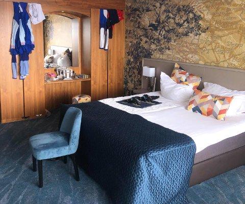 ROM 210: Her - på Hotel van der Valk i Wolvega - har Hallgeir Engebråten tilbrakt store deler av de fem siste ukene.