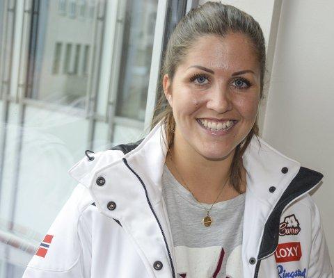 TØFF I HODET: – En av mine styrker er å være tøff i hodet, sier Caroline Olsen om å kjøre løp bare uker etter siste krasj.