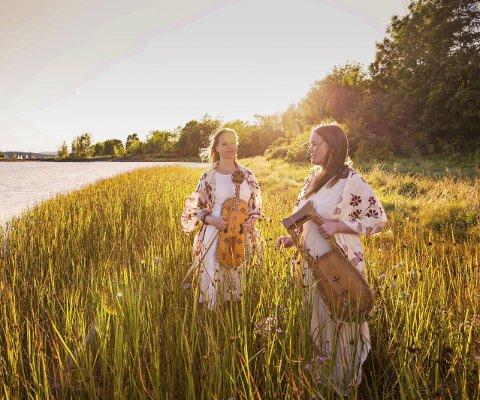 SOGESONG: Anne Hytta og Øyonn Groven Myhren held konsert på folkemusikkscena på Utne 9. februar. Foto: Ingvil Skeie Ljones