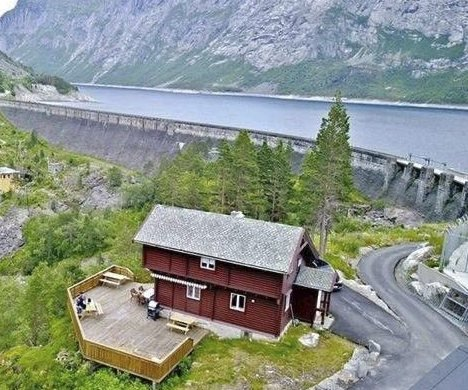 Villaen: Eigarane har brukt fritidsbustaden både til utleige og til eige bruk.