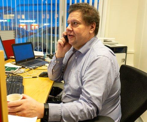 Nyhetsredaktør: Tor Kjetil Kristoffersen er tilbake som nyhetsredaktør etter nesten to år som journalist. – Jeg skal fortsette den gode jobben min forgjenger har holdt på med, forteller han.