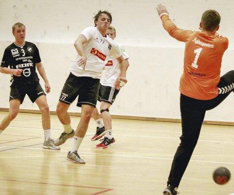 Toppscorer mot VIF: Jonatan Ørtugen Østad ble toppscorer for HIF i seierskampen mot Vålerenga lørdag. Foto: Erik Modal