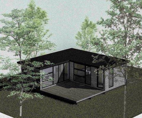 KOMPAKTHUS: Kompakthusene som Lillestrøm-selskapet Crea Eiendom står bak, er et av 25 prosjekter som får økonomisk støtte fra Lillestrøm kommune og Lillestrømbanken.