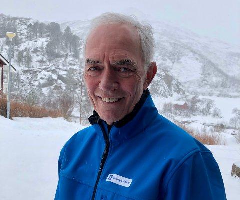 KUNDEVALGT: Odd-Magne Steffensen er kundevalgt i Gjensidigestiftelsen i Nordland, og ønsker seg søknader fra Lofoten.