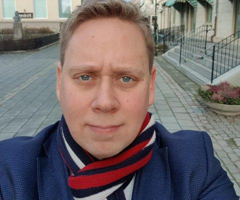 Politikerportrett: Tore Andersen, SV, Våler