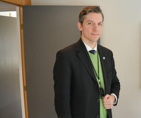 ANBEFALER AT NORGE BYGGER EN NY RIKSVEI 19 I MOSS: Kristoffer Robin Haug (MDG), fylkesråd for kollektivtrafikk i Viken - og leder i Miljøløftet Moss.
