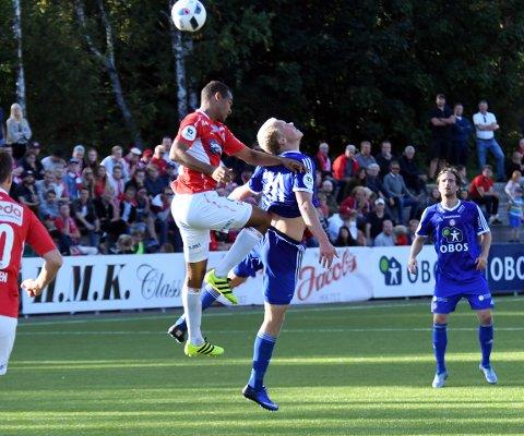 NOEN NUMMER FOR SMÅ: John Olav Norheim og KFUM/Oslo ble et par nummer for små og tapte 1-2 for Kongsvinger.