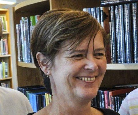 Anbefaler: Susanne Bolstad på biblioteket.
