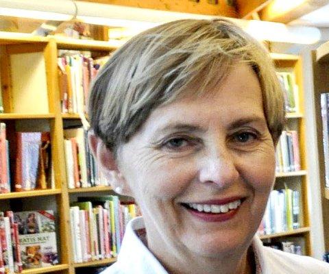 ANBEFALER: Bibliotekets Anne L. Labori anbefaler