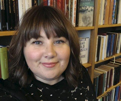 Anbefaler: Siri Vollebekk på biblioteket anbefaler