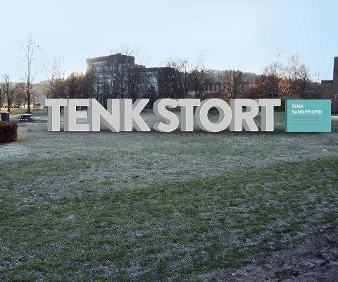 Nyeste forslag: Slik ser det siste forslaget til Tenk Stort-monument ut.