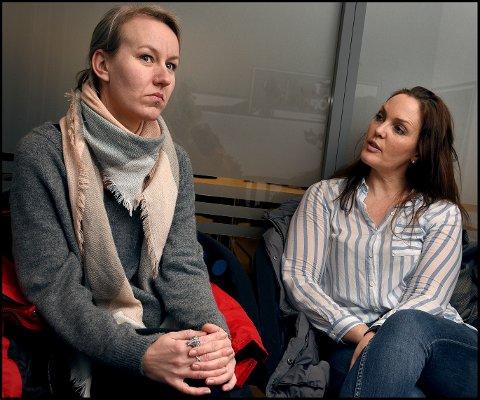 RANSELPOST: Mobbebrevet Katarina Magnus (til venstre) skrev for tre år siden skal nå sendes som obligatorisk ranselpost til alle grunnskoler i Sarpsborg. Det synes leder i Sarpsborg KFU, Kristine Oshaug Andersen, er viktig.