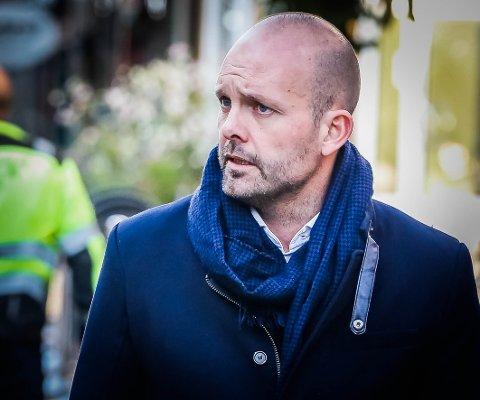 LOKAL FORSKRIFT: Ordfører Sindre Martinsen-Evje tror Sarpsborg må ha lokal forskrift også etter 25. april, men han håper at butikkene kan åpne etter denne datoen.