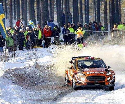 SATSER VIDERE?: Henning Solberg vurderer videre satsing i den nye generasjonen WRC-biler etter å ha fullført Rally Sweden.