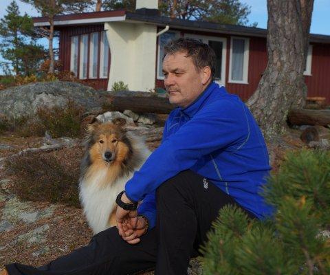 SAVNET: Nyttårsaften smatt Mira ut døra til hytta som ligger mellom Øyfjell og Høydalsmo. Siden har ingen sett henne.