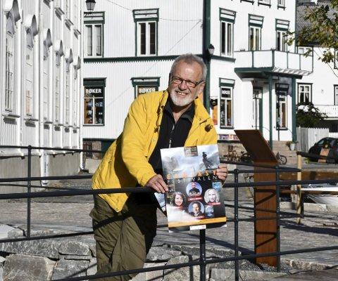 Øivind Berg: Håper mange unge tar seg turen til rådhuset i helgen, der det for første gang i Bokbyens historie arrangeres Fantasy festival.