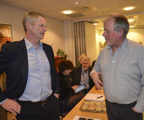 Stridigheter: Knut Aall og Morten Foss var to av fire kandidater som ble invitert til møte med nominasjonskomiteen i Senterpartiet onsdag. Arkivfoto