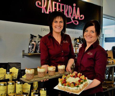 Viviann Sollie og Hege Moan har drevet Kaffekråa i hele 27 år, og har de senere årene blitt en stadig større aktør innen catering i regionen.