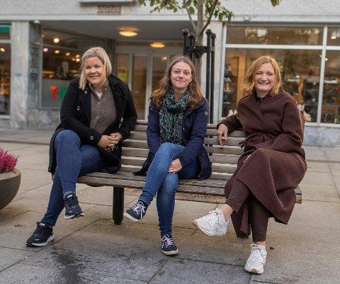 Enige: Ordførerne i Steigen, Hamarøy og Bodø, Aase Refsnes (t.v.), Britt Kristoffersen og Ida Pinnerød stiller seg alle bak uttalelsen til Salten regionråd.