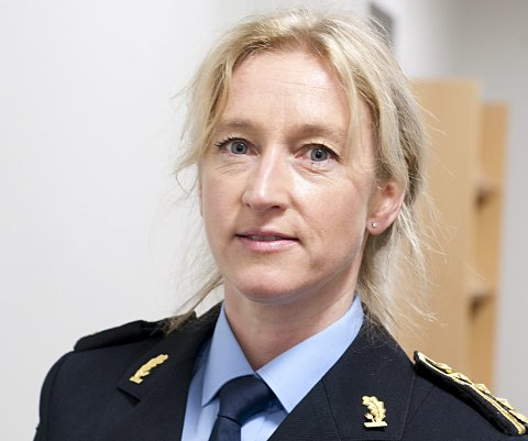 Politiinspektør Sidsel Isachsen.