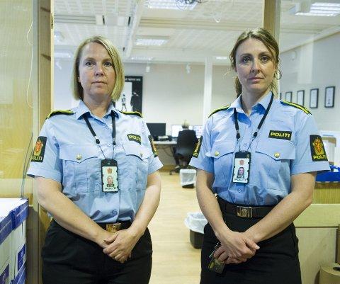 Alvorlig: Påtaleansvarlig Janne Ringset Heltne (t.v.) og etterforskningsleder Hilde Reikrås i «Dark Room» avslører stadig mer.