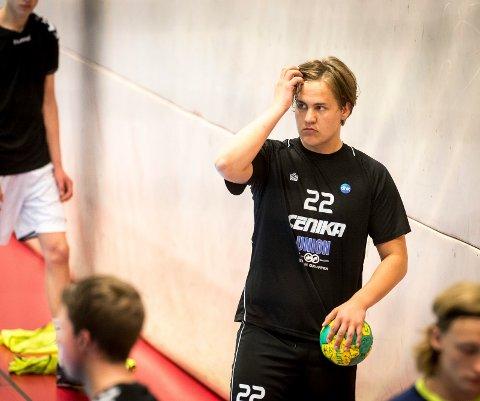 VRAKET DHK: Hermann Kristoffersen forteller om en trøblete sesong i Drammen HK. Her på G18-trening med St. Hallvard.